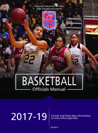 2018-19 Basketball Officials Manual book