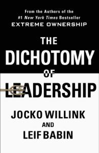 The Dichotomy of Leadership La couverture du livre martien