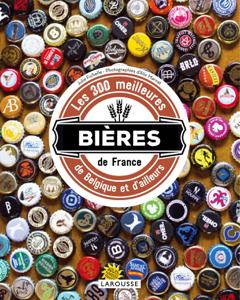 Les 300 meilleures bières de France, de Belgique et d'ailleurs La couverture du livre martien