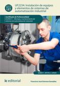 Instalación de equipos y elementos de sistemas de automatización industrial