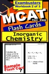 MCAT Test Prep Inorganic Chemistry Review--Exambusters Flash Cards--Workbook 2 Of 3