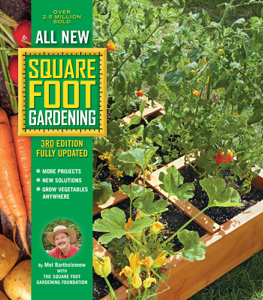 All New Square Foot Gardening, 3rd Edition, Fully Updated Book Cover