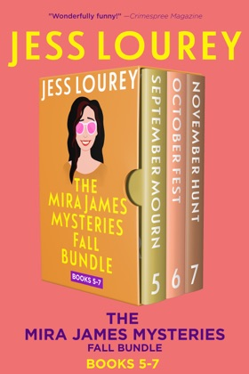 Mira James Mysteries Fall Bundle, Books 5-7 (September, October, November) image