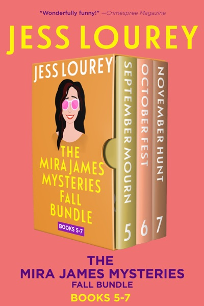 Mira James Mysteries Fall Bundle, Books 5-7 (September, October, November) - Jess Lourey book cover