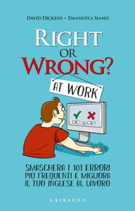 Right or wrong at work Copertina del libro