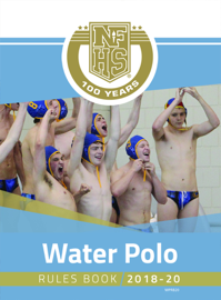 2018-19 NFHS Water Polo Rules Book book