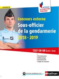 CONCOURS EXTERNE SOUS-OFFICIER DE LA GENDARMERIE 2018-2019