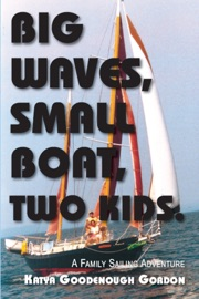 Big Waves Small Boat Two Kids