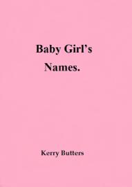 Baby Girl's Names. book