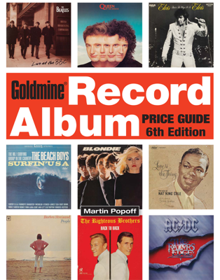 Goldmine Record Album Price Guide - Martin Popoff book