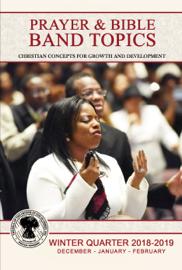 Prayer & Bible Band Topics: WIQ 2018-2019 (Dec-Feb) [eBook] book
