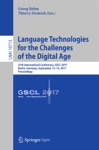 Language Technologies For The Challenges Of The Digital Age