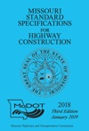 2018 Missouri Standard Specifications For Highway Construction Third Edition