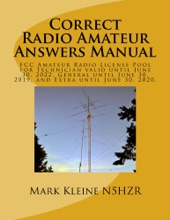 Correct Radio Amateur Answers Manual: Technician, General And Extra