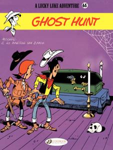 Lucky Luke (english version) - Tome 65 - Ghost Hunt Copertina del libro