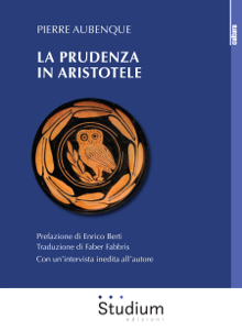 La prudenza in Aristotele Libro Cover