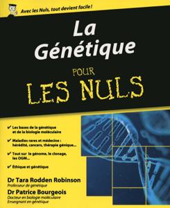 La génétique pour les nuls Couverture de livre