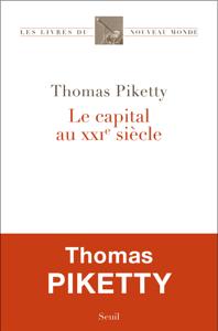 Le Capital au XXIe siècle La couverture du livre martien