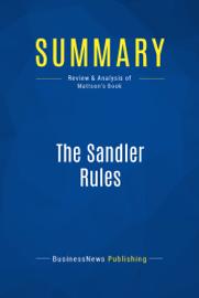 Summary: The Sandler Rules