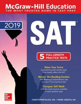 McGraw-Hill Education SAT 2019 - Christopher Black & Mark Anestis book
