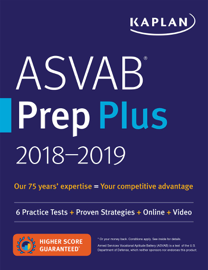 ASVAB Prep Plus 2018-2019 book