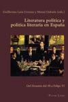 Literatura Poltica Y Poltica Literaria En Espaa