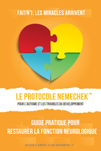 Le Protocole Nemechek pour L'autisme et Les Troubles de Développement La couverture du livre martien