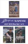Harlequin Love Inspired Suspense July 2018 - Box Set 1 Of 2