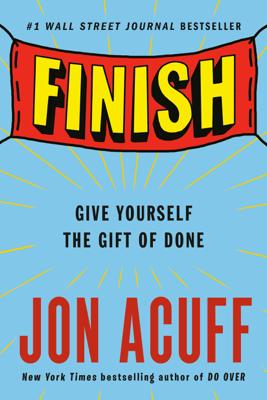 Finish - Jon Acuff book