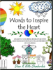 Diane K Hiltz Chamberlain - Words to Inspire the Heart: An Adult Coloring Book of Quotes and Designs for Peace-Filled Moments of Coloring artwork