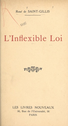 L'inflexible loi