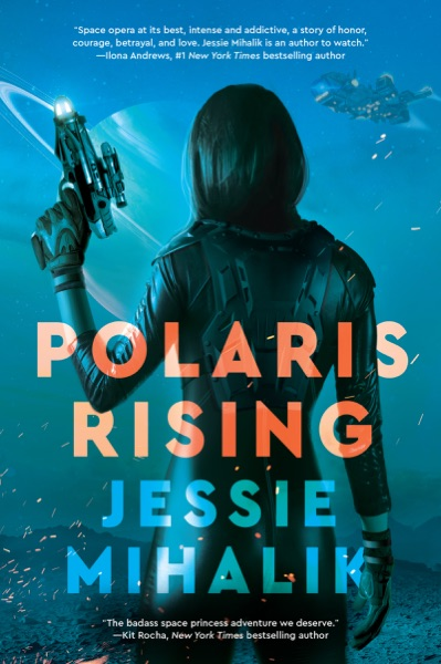 Polaris Rising - Jessie Mihalik book cover