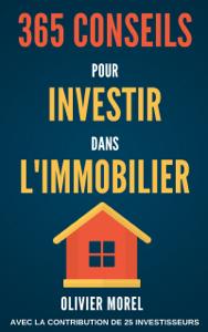 365 Conseils pour Investir dans l'immobilier La couverture du livre martien