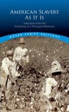American Slavery As It Is