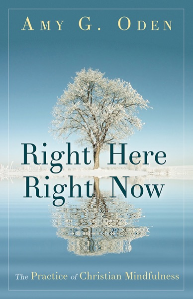 Right Here Right Now - Amy G. Oden book cover