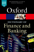 A Dictionary of Finance and Banking