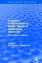 Logistics' Contributions To Better Health In Developing Countries