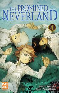 The Promised Neverland T04 La couverture du livre martien