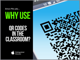 Why use QR codes in the classroom? book