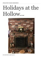 Holidays at the Hollow...