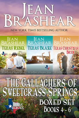 The Gallaghers of Sweetgrass Springs Boxed Set Two - Jean Brashear book