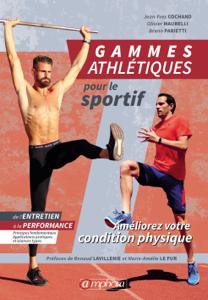 Gammes athlétiques pour le sportif La couverture du livre martien