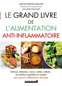 Le grand livre de l'alimentation anti-inflammatoire La couverture du livre martien