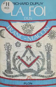 La foi d'un franc-maçon La couverture du livre martien