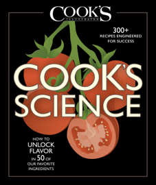 Cook's Science book