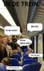 Frank Beuken - In de trein. Anno 2016: 2017 artwork