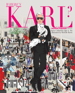 Where's Karl? La couverture du livre martien
