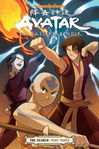 Avatar: The Last Airbender - The Search Part 3 Copertina del libro