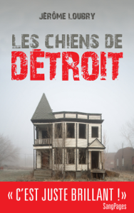 Les Chiens de Détroit La couverture du livre martien