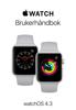Apple Watch-brukerhåndbok - Apple Inc.